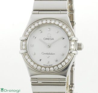 Omega Lady Constellation Diamond MOP dial ref. 14657100