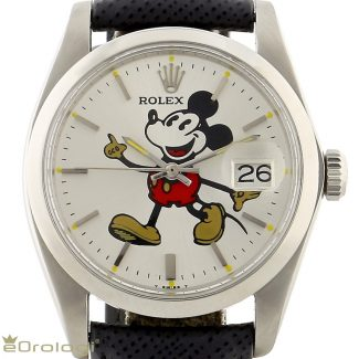 """Rolex Oysterdate """"Mickey Mouse Dial"""" ref. 6694"""