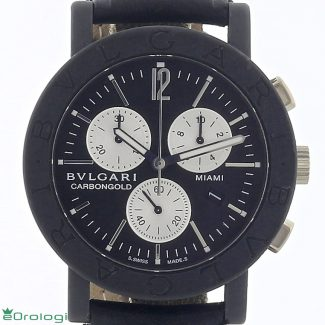 Bulgari Carbongold Miami ref. BB 38 CL CH