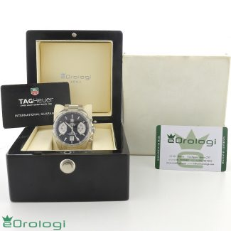 scatola con garanzia Tag Heuer Grand Carrera Calibre 17 ref. CAV 511A