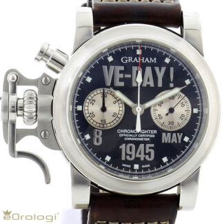 Graham Chronofighter Ve-day Limited Edition ref. 2CFBS.S01A.L30B