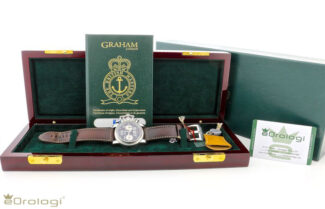scatola con garanzia Graham Chronofighter Ve-day Limited Edition ref. 2CFBS.S01A.L30B